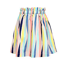 Buy Kin by John Lewis Girls' Multi Stripe Skirt, Multi Online at johnlewis.com