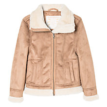 Buy Mango Kids Girls' Faux Suede Jacket Online at johnlewis.com