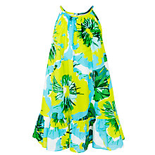 Buy John Lewis Girl Floral Swing Dress, Multi Online at johnlewis.com