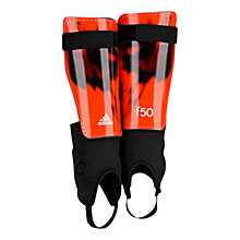 Buy Adidas F50 Shin Guard Ankle Pro, Red/Black Online at johnlewis.com