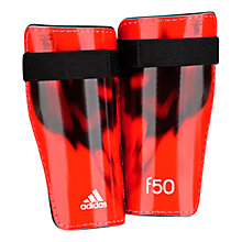 Buy Adidas F50 Lite Shin Guards, Red/Black Online at johnlewis.com
