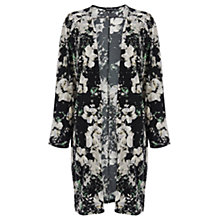 Buy Warehouse Floral Print Longline Kimono, Mutli Online at johnlewis.com