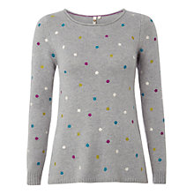 Buy White Stuff Crazy About Spots Jumper, Mythical Online at johnlewis.com