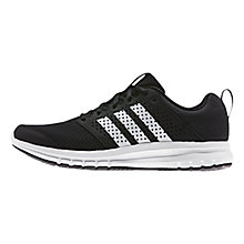 Buy Adidas Madoru Men's Running Shoes, Core Black Online at johnlewis.com