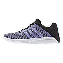 Buy Adidas CC Fresh 2 Women's Running Shoes, Core Black/Light Purple Online at johnlewis.com