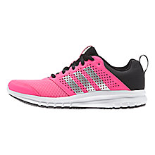 Buy Adidas Duramo Women's Running Shoes, Solar Pink/Core Black Online at johnlewis.com