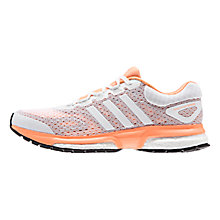 Buy Adidas Response Boost Women's Running Shoes, Orange Online at johnlewis.com