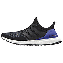 Buy Adidas Ultra Boost Women's Running Shoes, Core Black Online at johnlewis.com