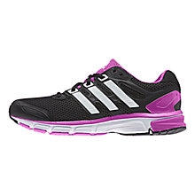 Buy Adidas Nova Stability Women's Running Shoes, Black/Purple Online at johnlewis.com