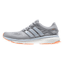 Buy Adidas Women's Energy Boost 2.0 ESM Running Shoes, Solid Grey Online at johnlewis.com