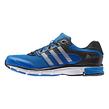 Buy Adidas Nova Cushion Men's Running Shoes, Bright Royal Online at johnlewis.com