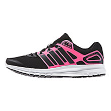 Buy Adidas Duramo 6 Women's Running Shoes, Black/Pink Online at johnlewis.com