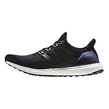 Buy Adidas Ultra Boost Men's Running Shoes, Core Black Online at johnlewis.com