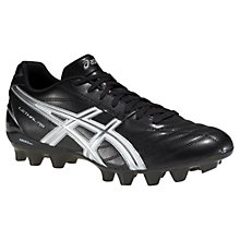 Buy Asics Lethal RS Men's Rugby Boots, Black/White Online at johnlewis.com