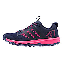 Buy Adidas Kanadia Trail 7 Women's Running Shoes, Night Sky/Pink Online at johnlewis.com