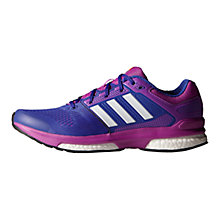 Buy Adidas Revenge Boost 2 Women's Running Trainers, Night Flash Online at johnlewis.com