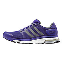 Buy Adidas Adistar Boost Glow Women's Running Shoes, Dark Marine/Bluebird Online at johnlewis.com