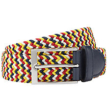 Buy John Lewis Woven Plaited Belt Online at johnlewis.com