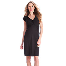 Buy Séraphine Charlize Maternity Dress, Black Online at johnlewis.com