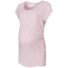 Buy Mamalicious Ally Jersey Maternity Top, Pink Online at johnlewis.com