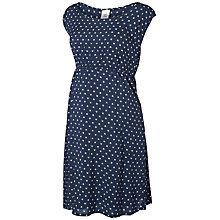 Buy Mamalicious One Woven Cap Sleeve Maternity Dress, Iris Online at johnlewis.com