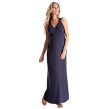 Buy Séraphine Carina Maxi Maternity Dress, Navy Online at johnlewis.com