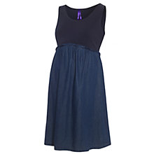 Buy Seraphine Meryl Denim Maternity Dress, Blue Online at johnlewis.com