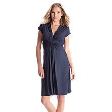 Buy Séraphine Jolene Short Sleeve Maternity Dress, Navy Online at johnlewis.com