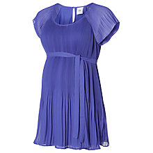 Buy Mamalicious Izabelle Thin Pleat Tunic Top, Liberty Blue Online at johnlewis.com