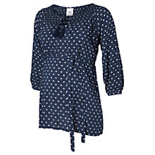Buy Mamalicious One Woven Maternity Top, Iris Online at johnlewis.com