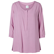 Buy Mamalicious Karo Lia Maternity Nursing Blouse, Pink Online at johnlewis.com