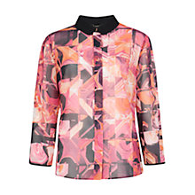Buy Ted Baker Retro Geo Shirt, Bright Pink Online at johnlewis.com