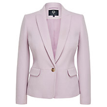 Buy Viyella Wool Blend Teddy Jacket, Lavender Online at johnlewis.com