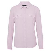 Buy Viyella Crepe Shirt, Lavender Online at johnlewis.com