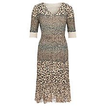Buy Viyella Petite Pebble Crinkle Dress, Multi Online at johnlewis.com