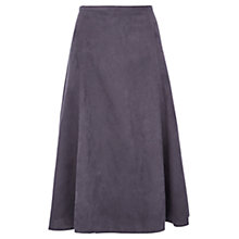 Buy Viyella Suedette A-Line Skirt, Storm Online at johnlewis.com