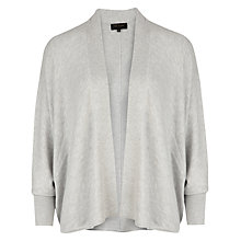 Buy Ted Baker Easy Cocoon Cardigan, Grey Online at johnlewis.com