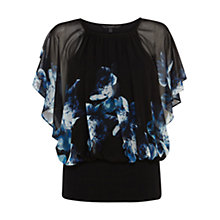 Buy Coast Ryker Printed Calla Top, Multi Online at johnlewis.com