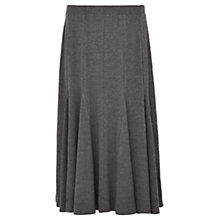 Buy Viyella Fit And Flare Jersey Skirt, Grey Marl Online at johnlewis.com
