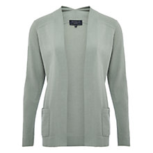 Buy Viyella Petite Stitch Detail Cardigan, Green Online at johnlewis.com