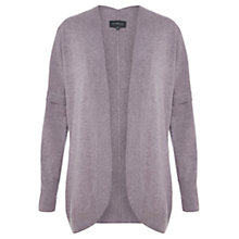 Buy Viyella Curved Front Wool Cardigan, Smokey Lavender Online at johnlewis.com