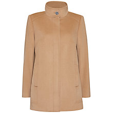 Buy Jaeger Wool Funnel Neck Coat Online at johnlewis.com