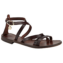 Buy Somerset by Alice Temperley Lavinia Leather Sandals Online at johnlewis.com