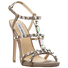 Buy Steve Madden Majestyc Embellished Stiletto Sandals Online at johnlewis.com