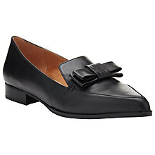 Buy COLLECTION by John Lewis Capri Leather Ballerina Loafers, Black Online at johnlewis.com