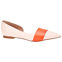 Buy COLLECTION by John Lewis Imola Leather Flat Pumps Online at johnlewis.com