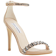 Buy Steve Madden Suzzana Embellished Stiletto Sandals Online at johnlewis.com