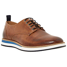Buy Dune Baller Wedge Leather Derby Shoes Online at johnlewis.com