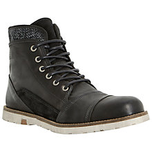 Buy Dune Crossword Double Collar Boots Online at johnlewis.com