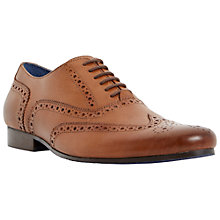 Buy Dune Rodwell Leather Brogues Online at johnlewis.com